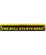 "Dart Oche throw line marker ""The bull starts here"" - $5.98"