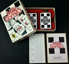 Mille Bornes 1982 French Auto Race Card Game COMPLETE Parker Brothers 00... - $19.59