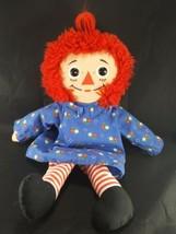 Playskool Raggedy Ann The Original Doll I Love you Heart 1989 Plush Stuf... - $14.84