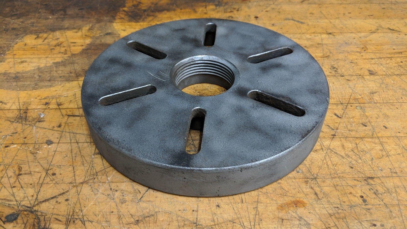 "8 3/8"" Diameter metal lathe Face Plate 2 1/4 8 TPI USA for South Bend Logan"