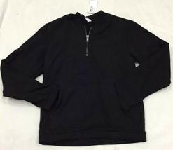 American Apparel Heavy Terry HVT Half Zip Crewneck Pullover Sweatshirt B... - $24.10