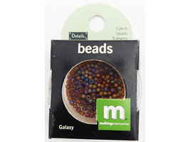 Making Memories Czech Seed Beads Galaxy 3 Grams