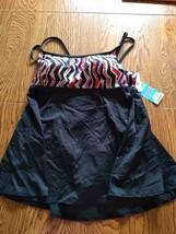 Swim Solutions Empire Princess Seam Swim Dress Size 20W image 1