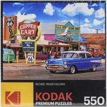 """Premium Jigsaw Puzzle 550 Pieces 18""""X 24""""-Seligmans Route 66 - $19.04"""