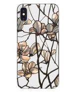 Louis Comfort Tiffany Magnolia Apple iPhone X Shock Absorbent Case - $18.56
