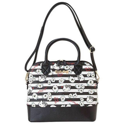 Hello Kitty 2 Way Boston Bag Flower Series From Japan F/S NEW Perfect Gift - $74.47