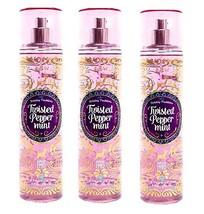 Bath & Body Works Twisted Peppermint Fine Fragrance Mist 8 fl oz - x3 - $34.99