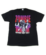 Rob Zombie-Satanic Orgy 2017 Tour-Black T-shirt - $22.99