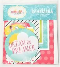 Photo Play Summer Day Dreams Ephemera 29 Pieces #SD2237