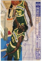1994-1995 Upper Deck Collector's Choice Card Shawn Kemp #396 Blueprint - $1.97