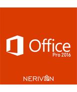 Microsoft Office 2016 PRO PLUS MS Office Professional Plus 32/64 Bit - $32.99