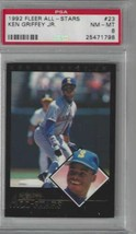 1992 Fleer All Stars #23 Ken Griffey Jr. PSA 8 NM-MT Mariners - $19.75