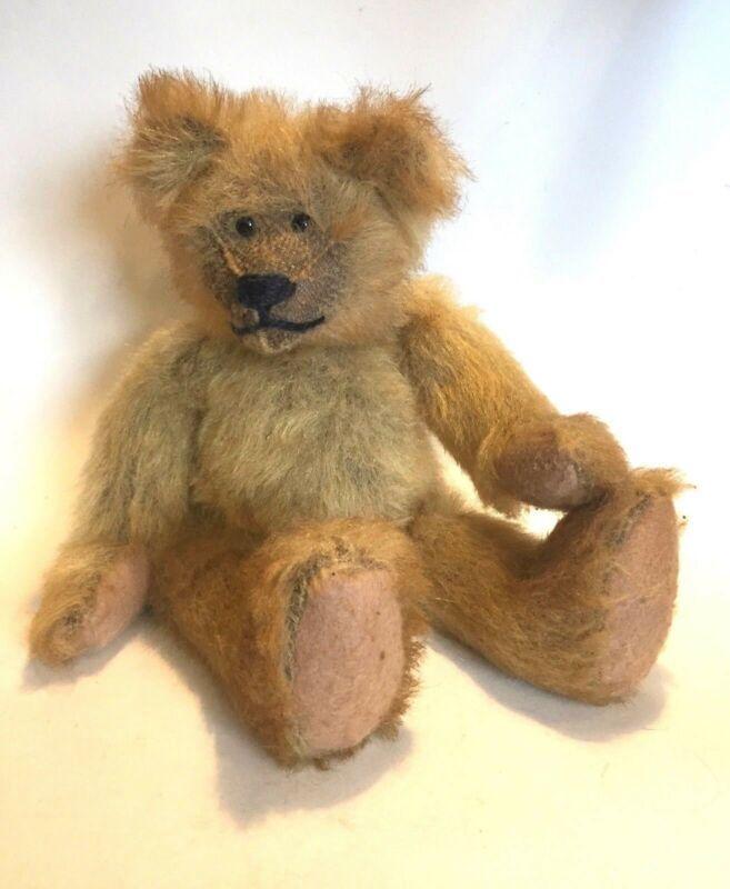 """Russ Berrie April Ann 1996 Judy Senk Jointed Stuffed Bear 14""""Beanie Plush   - $24.74"""