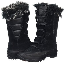 Women's THE NORTH FACE Nuptse Purna Boot, A0Z3 ZT1 F15 Size 7 Black - $119.95