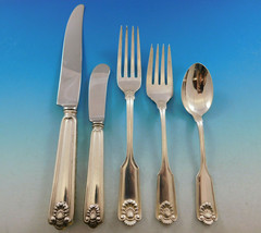 Fiddle Shell by Frank Smith Sterling Silver Flatware Set 8 Service 40 pc... - $2,316.00