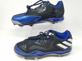 Adidas Baseball cleats Q16482 size 11.5 black/blue - $28.45