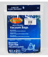 Hoover R30 Can Vac Bags, EnviroCare, 5 bags/2 Filters - $8.96