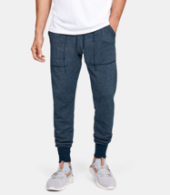 Under Armour Mens UA Speckle Terry Joggers Pants 1347283-408 Academy NWT - $47.69