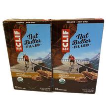 Lot Of 2x Clif Bar Nut Butter Filled: Chocolate Hazelnut Butter Boxes - $39.60