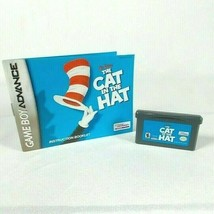 Dr. Seuss' The Cat In The Hat Nintendo Game Boy Advance Sp Gba - $9.87