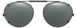 Visionaries Polarized Clip on Sunglasses - Round - Bronze Frame - 47 x 4... - $37.40+