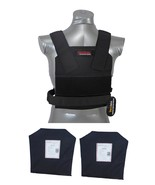 Tactical Scorpion Level IIIA 3A Soft Body Armor Plates + Bobcat Conceale... - $163.30