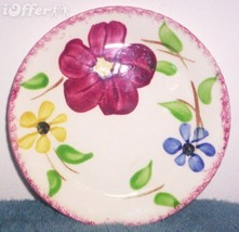 BLUE RIDGE SOUTHERN POTTERY-MORGAN LEIGH BREAD AND BUTTER PLATE - $9.95
