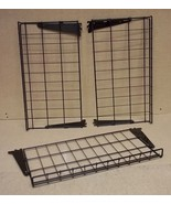 Wire Racks 24in x 13in with Brackets Lot of 3 - $27.50