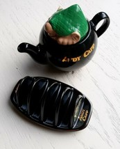 Wade Potteries England  Vtg 1990's Andy Capp Mirror Group Teapot and Toa... - $39.59
