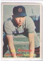 1957 Topps #248 Jim Finigan  Detroit Tigers  - $11.87