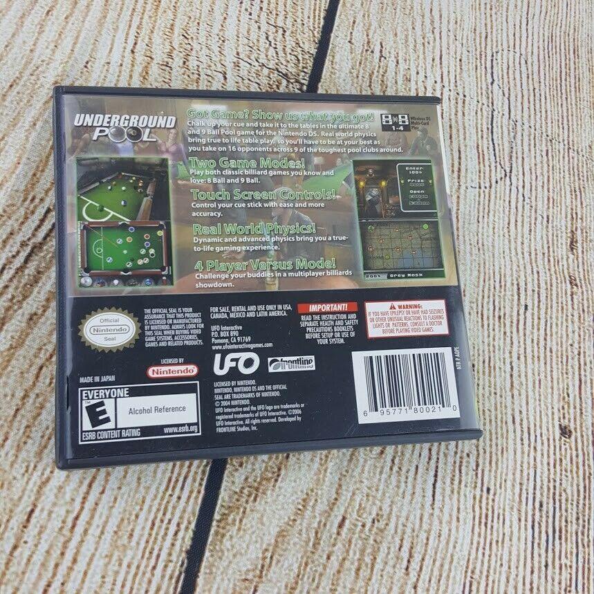 Underground Pool (Nintendo DS, 2007)