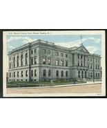 Mercer County Court House Trenton NJ Vintage Curteich 1941 Linen Postcard - $3.90
