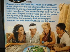 2000 First Edition Survivor 4-8 Adult Board Game Mattel CBS Reality Show ️️ - $24.97