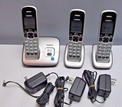 Uniden D1660-3 1.9 GHz Single Line Cordless Phone -  3 Handsets - $54.00