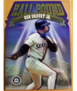 Ken Griffey Jr. 1998 Topps Chrome Hall Bound HB9 Seattle Mariners MLB ba... - $15.00