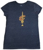 Cleveland Cavaliers NBA Women's Shirt New Team Logo Cap Sleeve Fitted Tee adidas