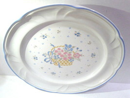"""Country Basket Collection made in Japan 10 1/2"""" Dinner Plate Vintage - $8.42"""