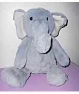 Target Cloud B Elephant Soft Plush Stuffed Animal Solid Grey Gray Furry - $24.73