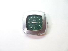 Caravelle 12 jewel transistorized electronic Green dial watch for repair 1972 - $116.10