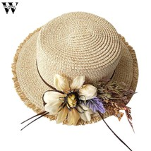 Womail  Hat 1PC  Cap Women Ladies Women Casual Wide Brimmed Floppy Folda... - $11.37