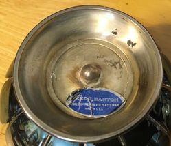 Reed & Barton Lotus Candlesticks & Centerpiece Silverplate image 6