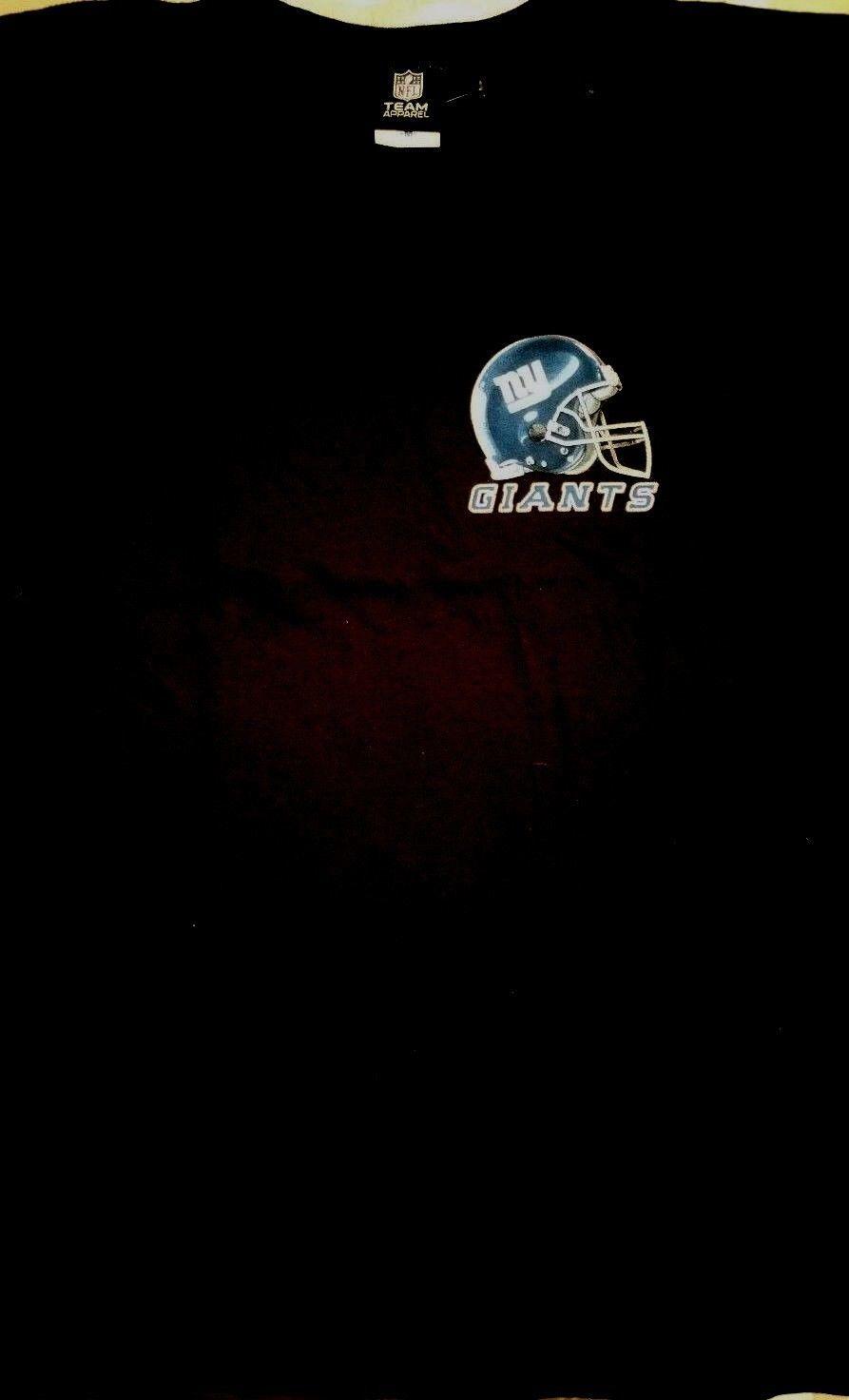NEW YORK GIANTS   New with tags SKY HELMET T Shirt BLACK shirt NFL TEAM APPAREL image 2