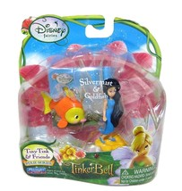 Disney Fairies Silvermist & Goldfish Tiny Tink & Friends Pixie Series NIP - $9.88