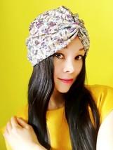 Multi-color Satin Laser Rhombus Turban,Women Turban,Full Turban,Stretch ... - $26.64 CAD