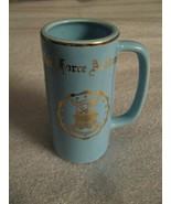 Fuerza Aérea Academy Taza - Vintage 597ms W. C. Banderitas Pottery Colegio - $20.68