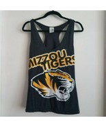 University Missouri Mizzou Tigers XL Tank Top Extra Large Majestic Secti... - $16.95