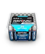 Rayovac AAA Batteries, Alkaline Triple A Batteries 36 Battery Count - $24.57