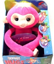 WowWee Fingerlings HUGS - Bella (Pink) -Interactive Plush Baby Monkey NEW - $24.18