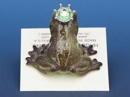 Birthstone Frog Prince Kissing August Peridot Miniatures by Hagen-Renaker image 4
