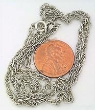 Silver Plate Monet Chain 2 - $6.54